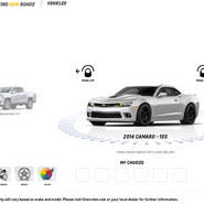 Chevrolet Accessories Kiosk Visualizer