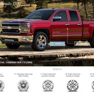 Chevrolet Silverado 1500 Visualizer