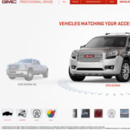 GMC Accessories Kiosk Visualizer